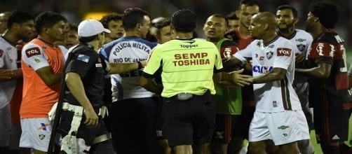Confusão na arbitragem do Fla-Flu permanece rendendo (Foto: André Durão / GloboEsporte.com)