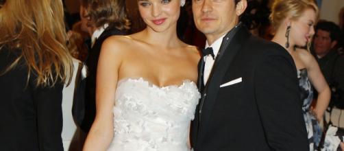 L'acteur Orlando Bloom et son ex-femme Miranda Kerr