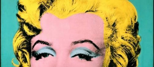 Marilyn Monroe di Andy Warhol.