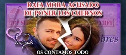 Rafa Mora acusado de ser infiel a Macarena con una mujer muy famosa