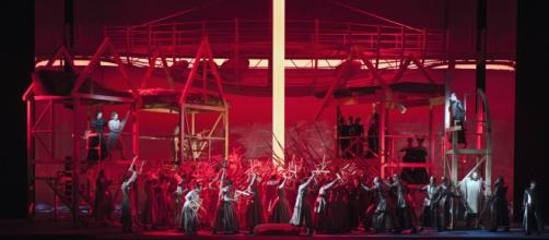 Rossini's 'Guillaume Tell,' as seen at Dutch National Opera. Photo by Ruth Walz, courtesy of Metropolitan Opera, used with permission.