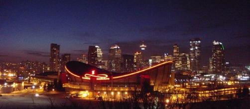 Scotiabank Saddledome in Calgary (credit: JMacPherson on Flickr creative commons)