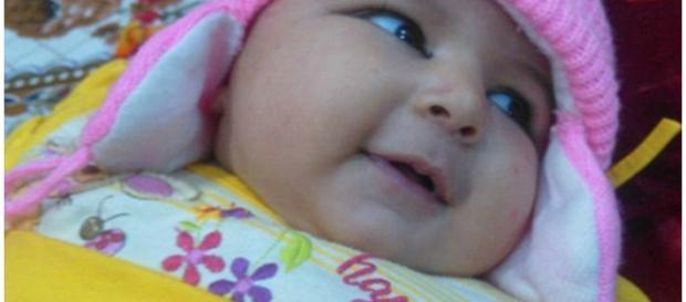 Areej Ali tinha somente seis semanas