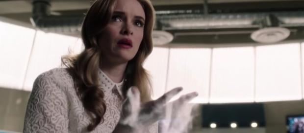 "Caitlin Snow (Danielle Panabaker) in ""The Flash""/Photo via screencap, ""The Flash"""