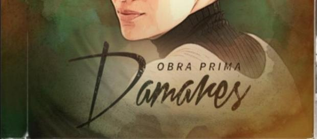 Capa do cd Obra Prima da cantora Damares.