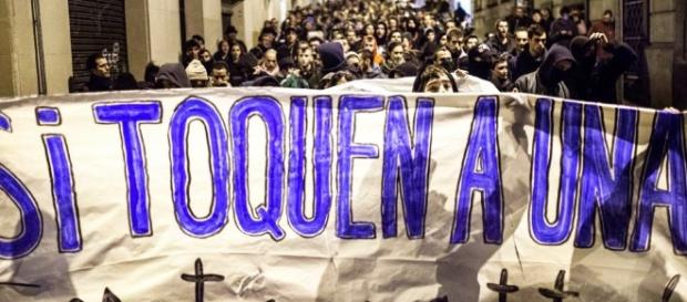 El callejón de la Doncella: marcha en reclamo de justicia