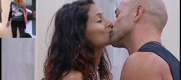 Il bacio tra Mariana e Stefano