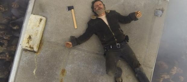 Immagine: Rick Grimes di The Walking Dead.
