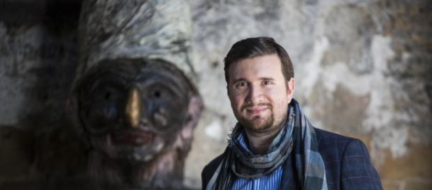 L'autore del libro Marco Perillo