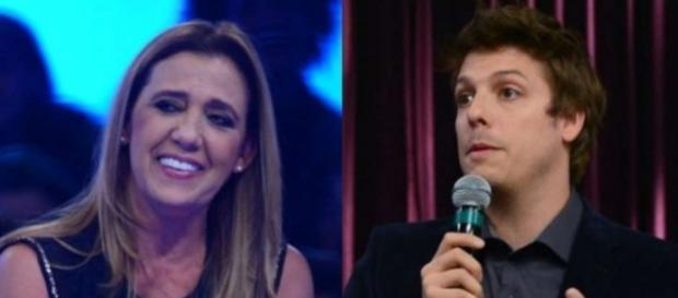 Rita Cadillac abandona gravação com Porchat