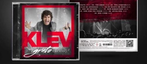 Capa do primeiro CD de Klev Soares (Foto: Divulgação)