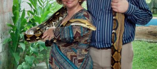 """En esta foto me encuentro en el Museo Imax de Jalapa, Ver. cargando a """"la Mantequilla"""" con mi hijo Jesús; somos diferentes ¿y qué?"""