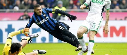 Inter-Sassuolo 0-1: Berardi su rigore gela i nerazzurri