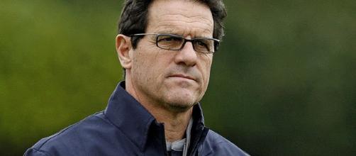L'ex allenatore di Milan e Roma Fabio Capello