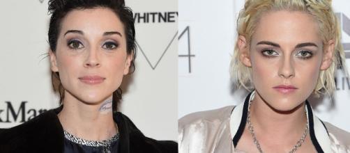 Singer St. Vincent and Kristen Stewart/ Cosmopolitan - com.au
