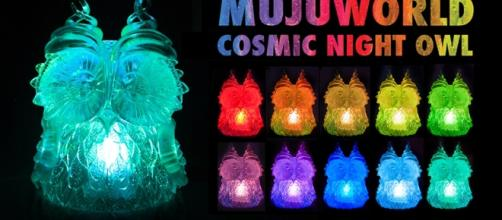 The 'Cosmic Night Owl' is being funded via Kickstarter. / Photo via Katie Weselby, Mujuworld. Used with permission.