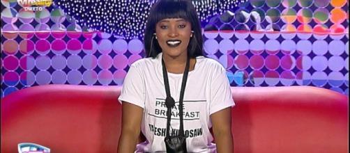 Tucha está a concorrer em SS6 depois de ter participado noutro reality show em Angola