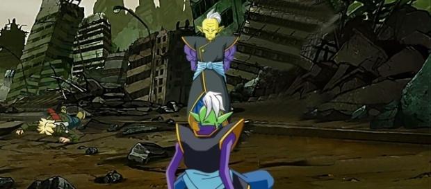 Gowasu llega al futuro de Trunks