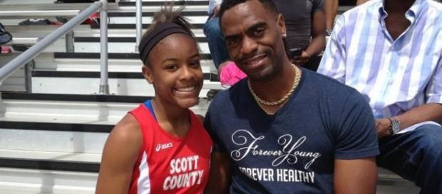La hija de Tyson Gay, Trinity Gay fallecida con 15 años por culpa de una bala perdida en un fuego cruzado en Lexington