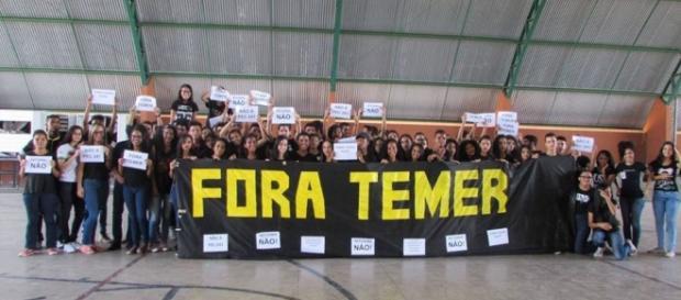 Movimento de esquerda mobilizou 460 escolas (Foto: Reprodução/Mídia Ninja)