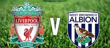 Liverpool venceu o West Bromwich por 2 a 1