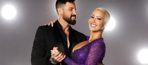 Amber Rose Breaks Down On 'DWTS,' Love Triangle With Maksim ... - inquisitr.com