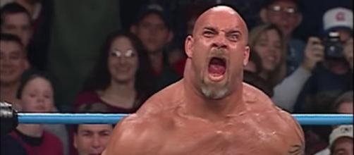 "Bill Goldberg returns to WWE's Monday Night ""Raw""/Photo via screencap, ""Raw"""