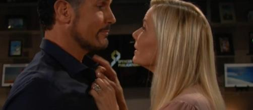 Bill pushes Brooke to get married via YouTube CBS