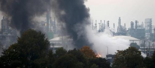 Esplosione a Ludwigshafen, Germania.