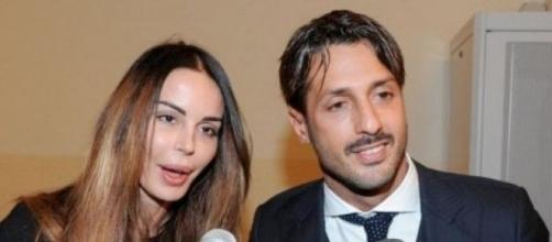 La modella Nina Moric e il fotografo Fabrizio Corona