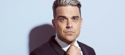 Nella foto il cantautore britannico Robbie Williams