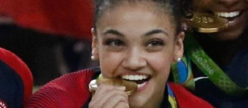 Olympic gold medalist Laurie Hernandez will perform a salsa tonight on 'Dancing with the Stars' 2016. Agência Brasil Fotografias/Flickr