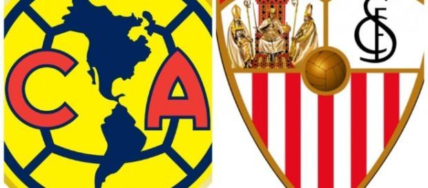 Club América de México y FC Sevilla, de España: dos clubes enfrentados por un himno