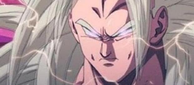Goku super saiyajin supremo DBZ
