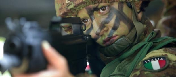 I soldati italiani sono impegnati in combattimento a Mosul e schierati a protezione della diga della città. - Foto di repertorio