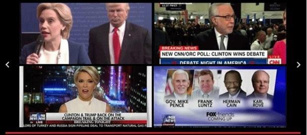 Le troisième et dernier débat entre Trump et Clinton, mercredi, sera retransmis par Fox News qui lâche discrètement Trump...