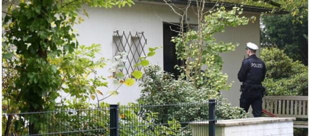 Polícia encontrou as crianças nessa casa