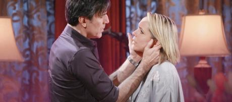 Days of our Lives Nicole and Deimos kiss - 7thsensepsychics.com