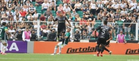 O Figueirense perdeu para o Palmeiras por 2x1 em partida da 31a. rodada do Brasileirão