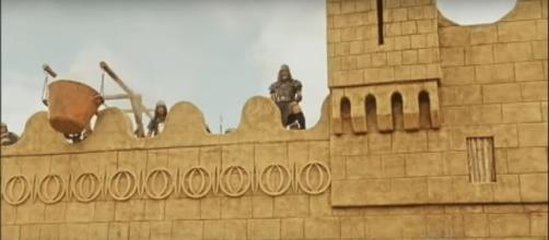 A queda das muralhas de Jericó começou a ser exibida nesta segunda-feira (17)
