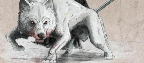 Lobo Gigantes de 'Game of Thrones'