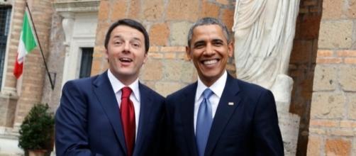 Matteo Renzi, premier italiano, e Barack Obama, presidente USA