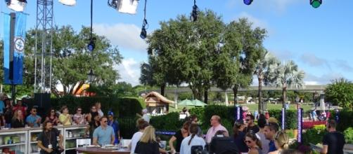 'The Chew' had a busy day of filming at Epcot. (Photo by Barb Nefer)
