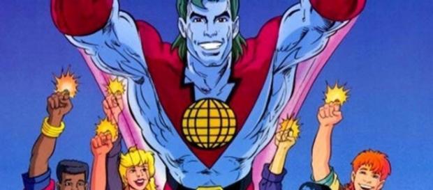 Capitão Planeta foi um sucesso na década de 90.