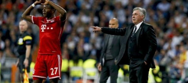 Com Ancelotti, o Bayern continua radiante