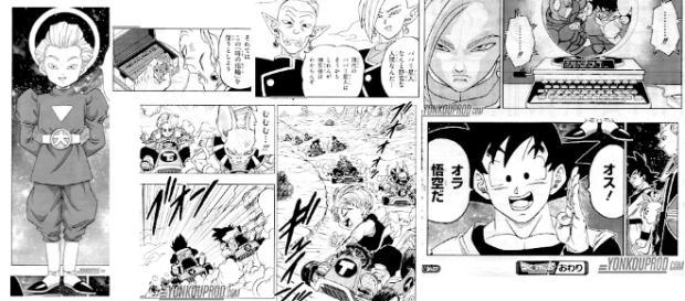 Imágenes del manga numero 17 de Dragon Ball Super