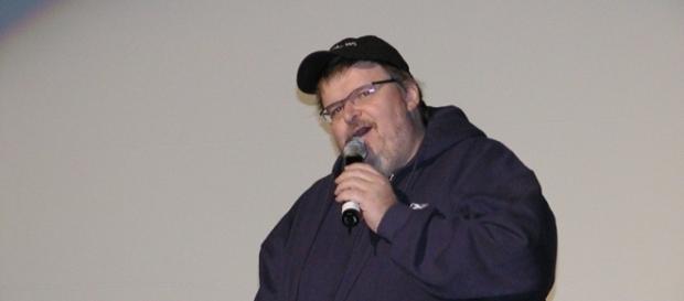 Michael Moore (credit: Andrew McFarlane/Wikimedia Commons).