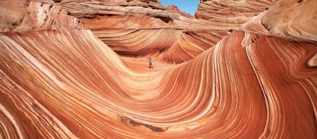 Olhando assim, poucos acreditam que essas fotos são de lugares reais, ou que sejam de algum lugar da terra.