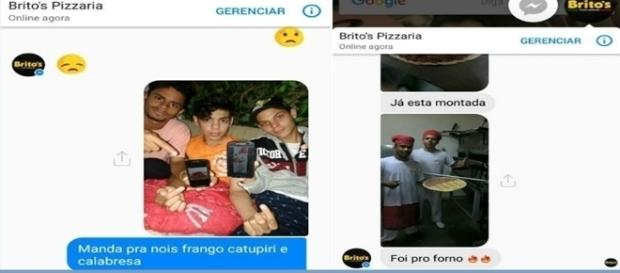 Pedido de pizza no Paraná bomba nas redes sociais