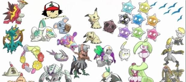 se filtran todas las criaturas de pokemon sol y luna